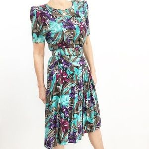 Tropicana Novelty Print Dress